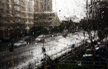 憂鬱な雨の日