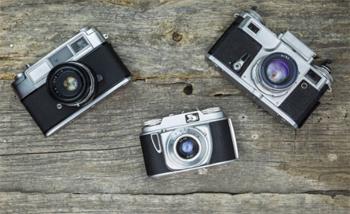 たくさんのカメラ