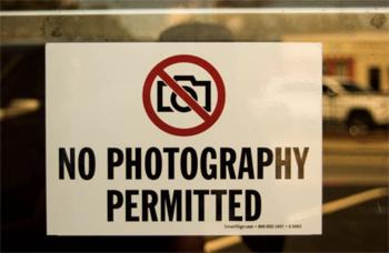 撮影禁止場所