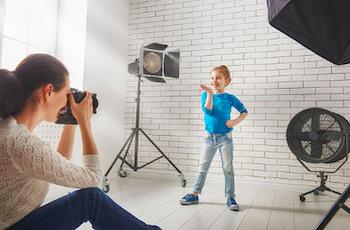 撮影スタジオのイメージ