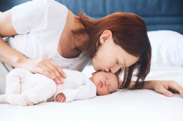 赤ちゃんとお母さんの愛情